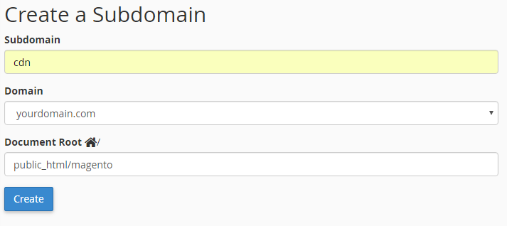 create_subdomain_cpanel