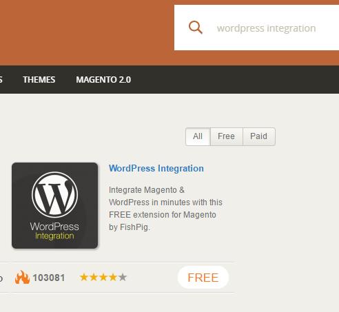magento_connect_wordpress_integration